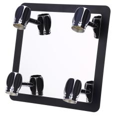 Lightme 3W Stainless Steel 4 Bulb Saving Energy LED Mirror Front Lamp Wall Light - intl