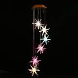 Best Linemart Solar Power Led Wind Chime Light Color Changing Home Garden Wedding Xmas Decor Intl