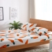 Sale Linen One Piece Cotton Twill Cartoon Radish 1 2M1 5 M 1 8M2 M Single Bed Double Bed On China
