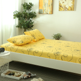 Linen One Piece Cotton Twill European Minimalist Pure Yellow 1 5M1 82 M Single Or Double Sheets Deal