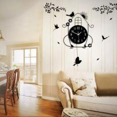 Where To Buy Little Bird House Swing Wall Clock