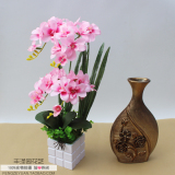 Cheapest Living Room Bedroom Imitation Flowers Orchid Online