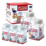 Price Compare Lock Lock Dry Food Canister 380Ml 3P 1L 2P Set Total 5Ea
