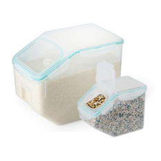 Price Lock Lock Grain Container 2P Set 10Kg 2 5 Kg Lock Lock