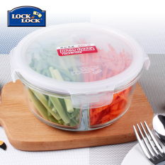 Where Can I Buy Lock&Lock Glass Crisper Glass Boxes Microwave Oven Bowl With Separate Boxes Lunch Boxes
