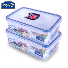 Buy Lock&lock 2X1L Fruit Snack Large Capacity Lunch Box China