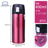 Review Lock&lock 400Ml Outdoor Portable Sports Water Bottle Vacuum Mug Cup Insulated Cup China