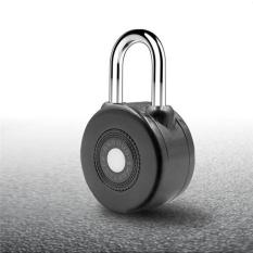 Price Comparisons For Locksmart Mini Keyless Smart Lock Home Security Electronic Motorcycle Bicycle Door Lock Bluetooth Padlock Gray Waterproof Intl