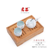Loftex Sets Group Bamboo Sheng Water Tea Tray Teapot Cup Oem Discount