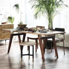 Londoner Kinfolk Industrial Dining Table (1800) from Korea / Featured in Korean Drama Variety Shows