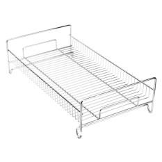 Long 41 Cm Single Tableware Drain Basket Dish Rack Fruit Rack Kitchen Practical Shelving Rack Bracket Storage Best Buy
