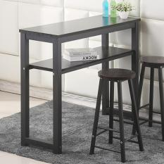 Longines Bar Table Dual Layer Storage 120 Cm (Bar Table) (Free Installation + 12 Months Warranty)