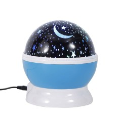 Lovely Rotating Projector Starry Night Lamp Star Sky Projection LED Lights New - intl