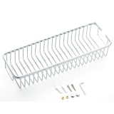 Price Comparisons Of Lt365 304 Stainless Steel Bathroom Shelf Rectangle Carrying Net Basket Storage Rack Holder Silver Intl