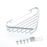 Price Compare Lt365 304 Stainless Steel Wall Mounted Bathroom Shelf Triangle Carrying Basket Storage Rack Holder Silver Intl
