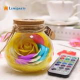 Lumiparty Led Rgb Dimmer Lamp Date Wedding Gift Creative Romantic Rose Bottle Light Color Changing Remote Control Price