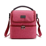Sale Lunch Box Bag Tote Hot Cold Insulated Thermal Cooler Travel Work Sch**l Picnic Intl China