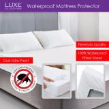 Price Luxe Collection Waterproof Mattress Protector Premium Quality Fitted Sheet Singapore