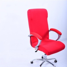 M Spandex Office Chair Cover Slipcover Armrest Cover Computer Seat Cover Stool Swivel Chair Elastic (Chair is NOT included)