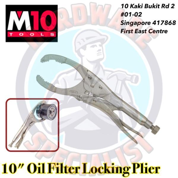 M10 10 Inch Oil Filter Locking Plier