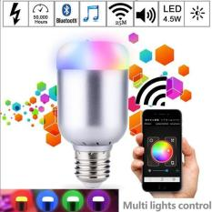 Sale Magic Blue 6 0W E27 Rgb Led Light Bulb Bluetooth 4 Smart App Lighting Lamp Color Change Dimmable Ac85 265V For Home Hotel Intl Online China