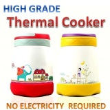 Review Magic Cook Pot Thermal Cooker Pot Thermos Flask Kids Lunch Box Lunchbox Oem
