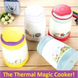 Magic Cook Pot Thermal Cooker Pot Thermos Flask Kids Lunch Box Lunchbox Review