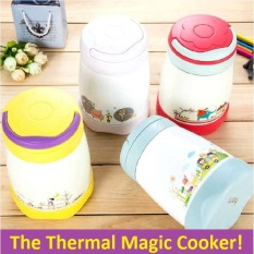 Discounted Magic Cook Pot Thermal Cooker Pot Thermos Flask Kids Lunch Box Lunchbox