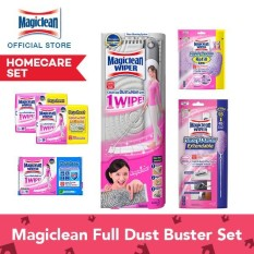 Price Magiclean Full Dust Buster Set 1 Wiper Mop 1 Handy Extendable 2X Dry Sheets 20S Wet Sheets Regular 16S Handy Refill Magiclean Online
