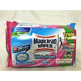 Price Magiclean Wet Sheet Triple Pack 3 X 8 S Magiclean Singapore