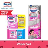 Sale Magiclean Wiper Starter Set 1 Wiper Mop 1 Dry Sheet 20S 1 Wet Sheet 8S Online On Singapore