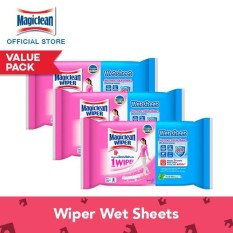 Where Can I Buy Magiclean Wiper Wet Sheet 8S Set Of 3