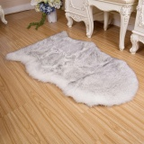 Low Cost Magicworldmall Practical High Quality Hot Sell Fluffy Mat Room Sofa Faux Fur Sheepskin Non Slip Sofa Rug Hairy Washable Carpets Intl