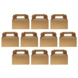 Buy Magideal 10Pcs Kraft Paper Bowknot Portable Cake Boxes Gift Boxes Wedding Party Diy Intl Online Singapore