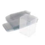 Buy Magideal 50Pcs Wedding Party Plastic Clear Gifts Box Candy Chocolate Packaging Boxes Intl Online China