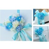 Store Magideal Wedding Car Decoration Kits 5 Meters Ribbons 6 Large Flower Bows Blue Intl Magideal On China