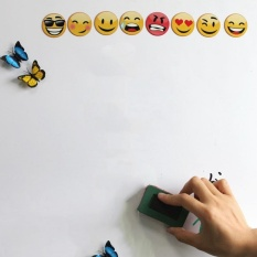 Price Compare Qimiao Magnetic Dry White Board Wall Stickers Children Painting 60 40Cm