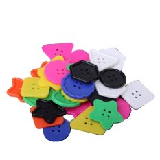 Sale M C Big Plastic Multicolor Buttons Of Different Shapes For Kids And *d*lt Crafts Intl Online China