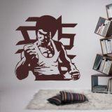 Recent Li Xiaolong Portrait Martial Arts Decorative Stickers Background Wall Stickers