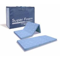 MaxCoil Super Foam 3 Fold Mattress - Single Size