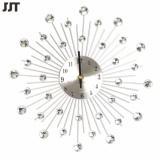 Top Rated May Zz 3D Wall Clock 64Pcs Diamonds Decorative Clock Intl