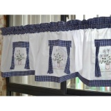 Top 10 May Zz American Country Style Fabric Embroidered Finished Curtain Headcurtain Coffee Curtain Kitchen Curtain Intl
