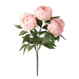 Buy Cheap May Zz Artificial Peony Flower Home Bouquet Decoration Pink Intl