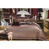 Buy Isleep 100 Soft Cotton Silk Feel Elegant Jacquard Bed Sheet Sets Online