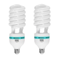 Buy Meking 2 Pieces Studio 150W 5500K 220V Photo Daylight Lamp Bulb Energy Saving Bulb E27 Cfl Lamps Meking Online