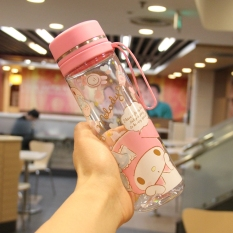 Melody Cute Plastic Women S Student Portable Bottle Water Cup Price Comparison