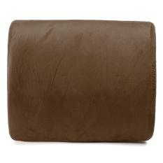 Memory Foam Lumbar Cushion Travel Pillow Car Flight Seat Home Chair Back Support - Intl