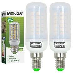 Mengs® 2Pcs E14 7W Led Corn Light 48X 5050 Smd Led Lamp Bulb In Warm White Energy Saving Light For Sale