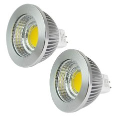MENGS® 2Pcs MR16 5W LED Spotlight 1x 5W COB LEDs LED Bulb In Warm White Energy-Saving Lamp