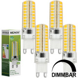 Top 10 Mengs® 4Pcs G9 7W Led Dimmable Light 72X 2835 Smd Leds Led Lamp In Warm White Energy Saving Light